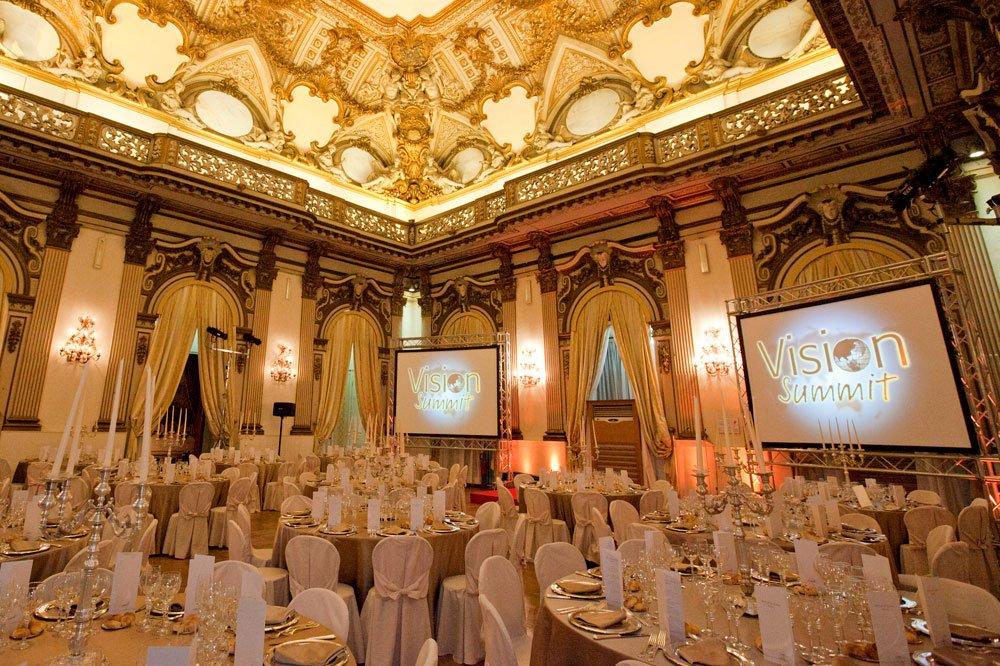 Palazzo brancaccio fornisce servizi per eventi e matrimoni quali
